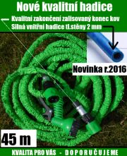 Smrštovací hadice 45 m novinka 2016