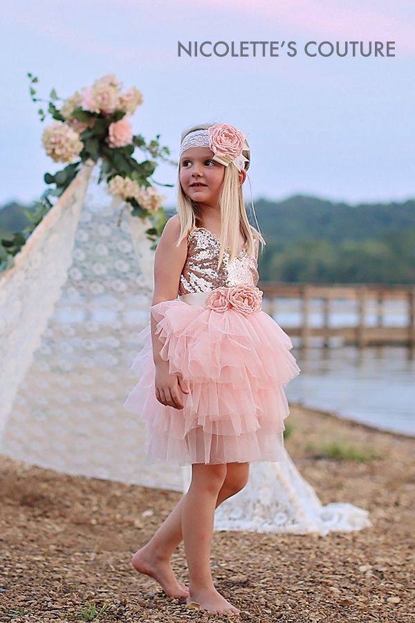 4bf7105cac89 Stunning Couture Style Special Occasion Dresses. Your little princess will  be the most fashionable girl at the wedding. Our chic styles are perfect  for ...