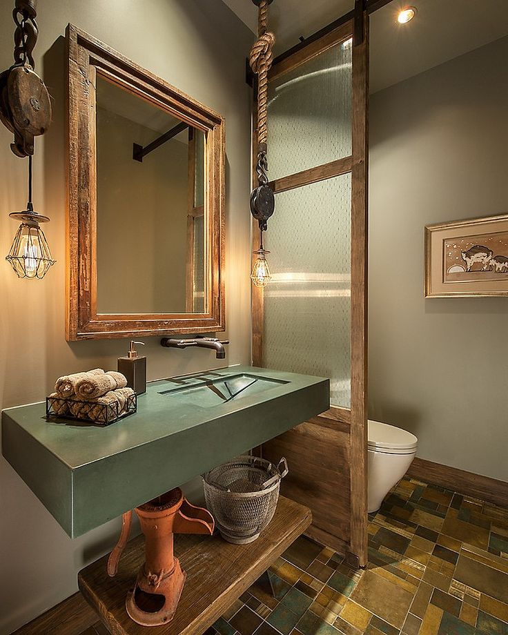 Small Bathroom Rustic Designs 16 best industrial bathroom images on pinterest | bathroom ideas