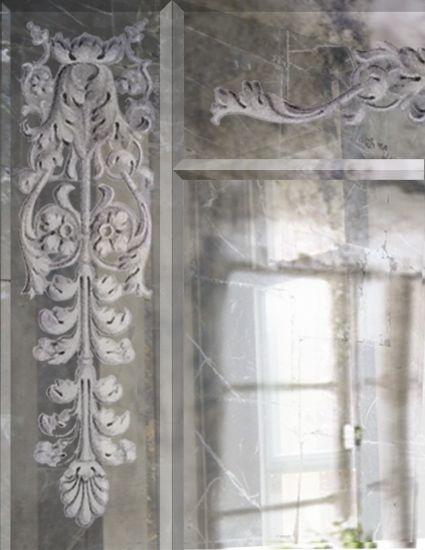 London Glass gilder: Verre églomisé – making antiqued Italian glass gilding…