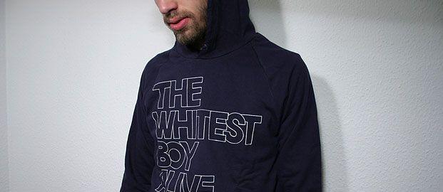 Whitest Boy Alive - Hoodie - TWBA - navy blue - The Whitest Boy Alive