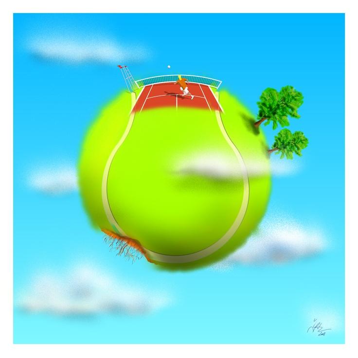 tenis ball      PainterX