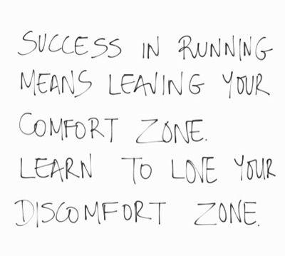 Inspirational running quote