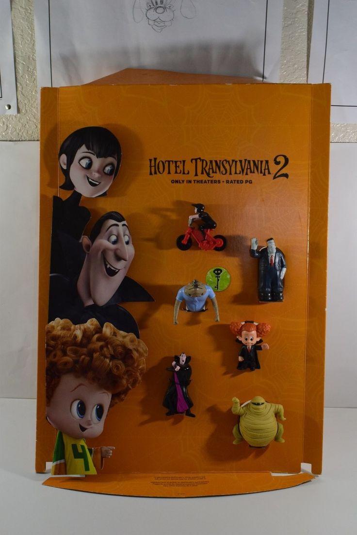 2015 McDonalds - Hotel Translyvania 2 Toy - Store Display