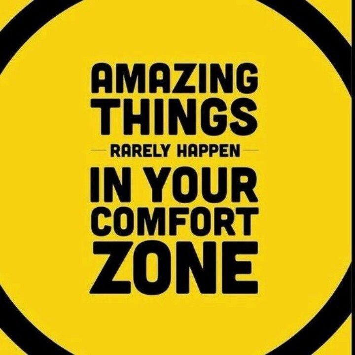 Amazing Motivation: Amazing Things Rarely Happen In Your Comfort Zone