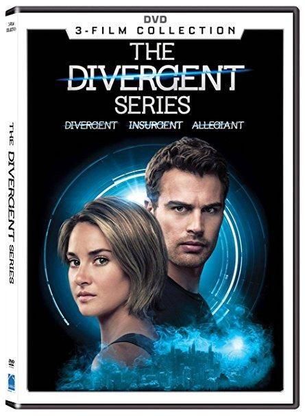 Shailene Woodley & Theo James & Neil Burger & Robert Schwentke -The Divergent Series 3-Film Collection
