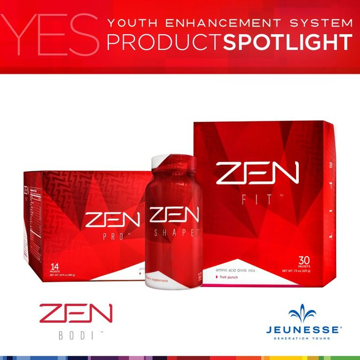ZEN get the body you want go checkout my website irresistibleyouth.jeunesseglobal.com