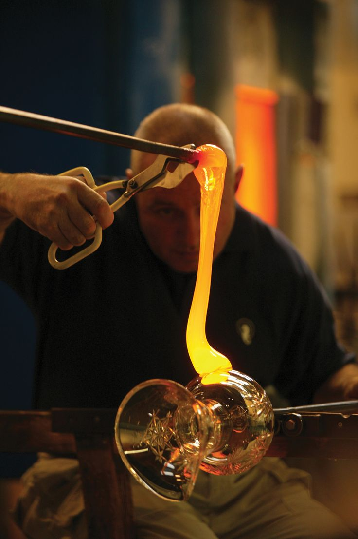 Waterford Crystal has been making their world famous product for more than 200 years.