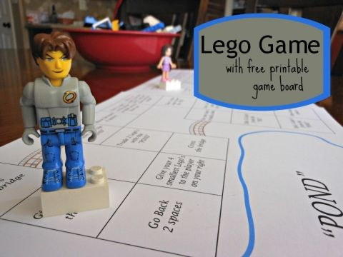 YEAH! Super fun Lego Game using my son's Lego collection. Just in time for summer!