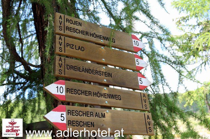 Wanderregion Reschenpass - http://www.adlerhotel.at/region-reschenpass.html