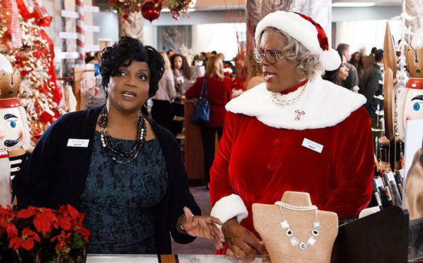 SANTA BABY? Anna Maria Horsford and Tyler Perry star in Tyler Perry's A Madea Christmas