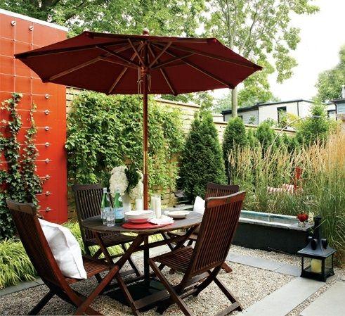 Die besten 25+ Sonnenschirm garten Ideen auf Pinterest Terrasse - liegestuhl im garten 55 ideen fur gestaltung vom lounge bereich