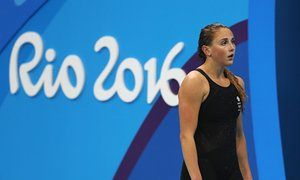 Rio Olympic Games 2016 - Day SixGreat Britain's Chloe Tutton following the Women's 200m Breaststroke Final at the Olympic Aquatics Stadium on the sixth day of the Rio Olympic Games, Brazil. PRESS ASSOCIATION Photo. Picture date: Thursday August 11, 2016. Photo credit should read: Martin Rickett/PA Wire. RESTRICTIONS - Editorial Use Only.