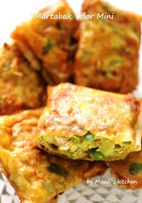 Maudi's kitchen: Martabak Telur Mini
