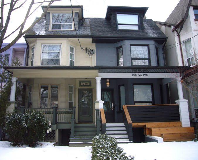 semi detached home design front toronto - Google Search