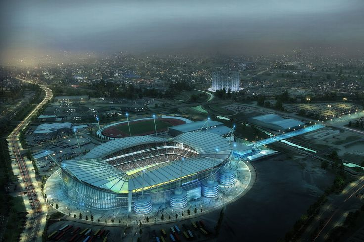 City Of Manchester Stadium.
