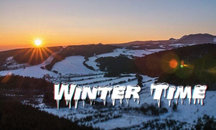 VIDEO Impressive 4K Winter Hyper-lapse with Night Sky  #timelapse #Slovakia
