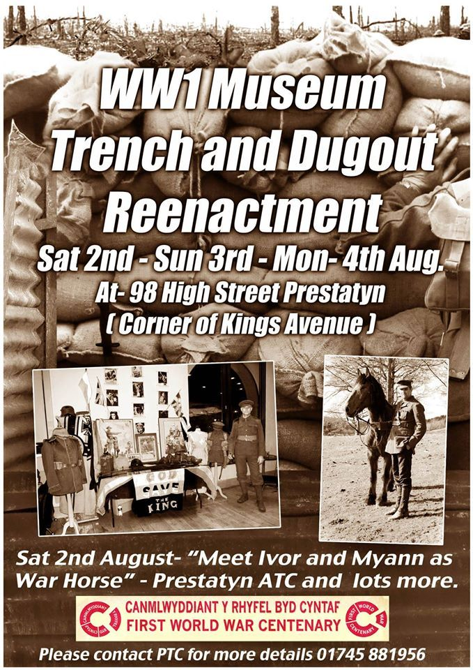 Prestatyn Living History Society WW1 event