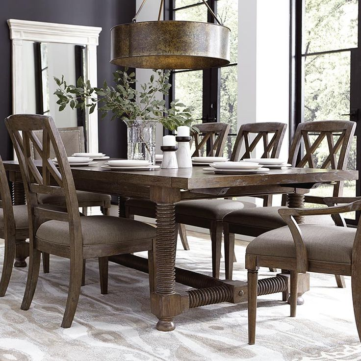 """104"""" Trestle Dining Table"""