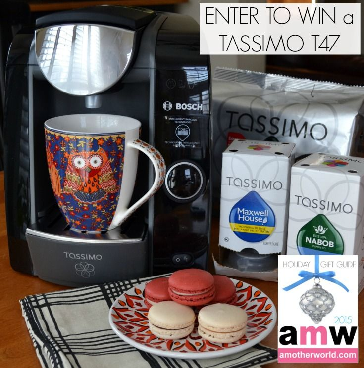 Enter to win a Tassimo T47 on amotherworld