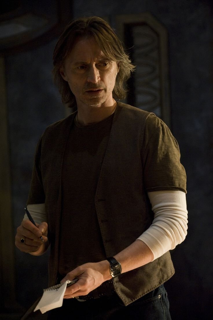 Robert Carlyle as Dr. Nicholas Rush in Stargate Universe
