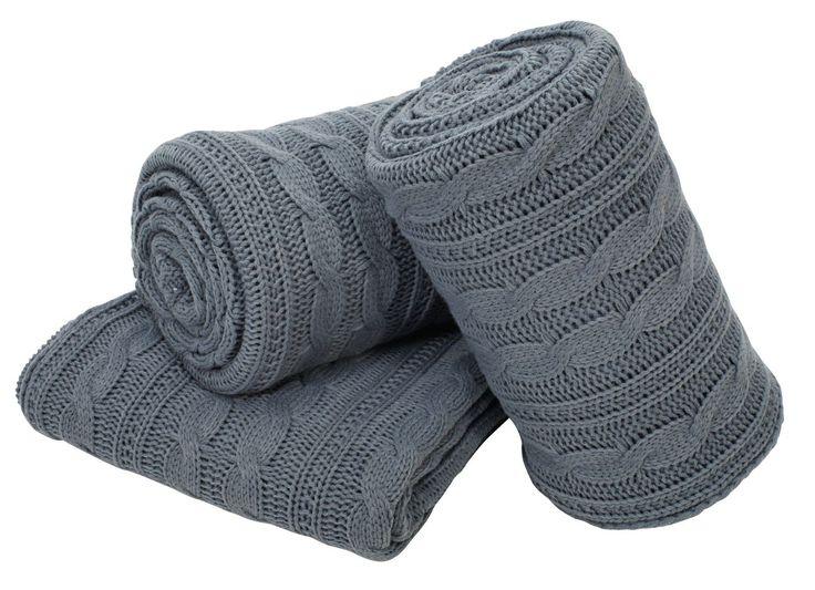 Cu o culoare foarte iubită de scandinavi, gri petrol, pătură MARGERITT.te va încălzi în zilele de toamnă. | JYSK
