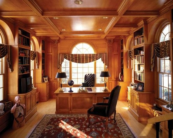Traditional home office home styles i like pinterest - Traditional home office design ...