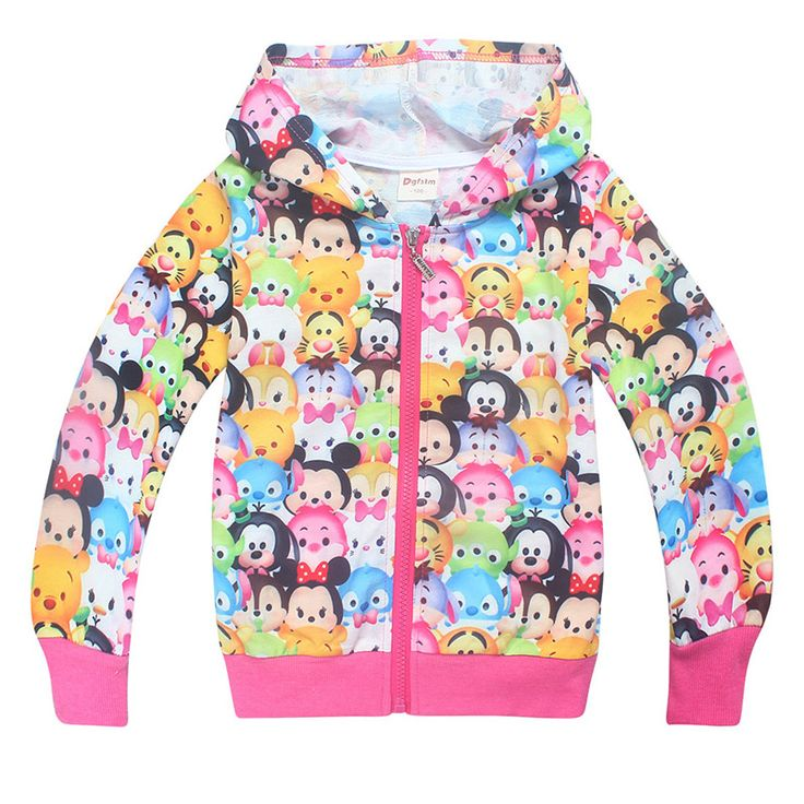Mickey Jacket Clothing For Baby Girls Boys Coat Minnie Cartoon Full Printed jacket Autumn Kids Outerwear Children Clothes 3-10Y //Price: $22.02 //     ##babyfashion