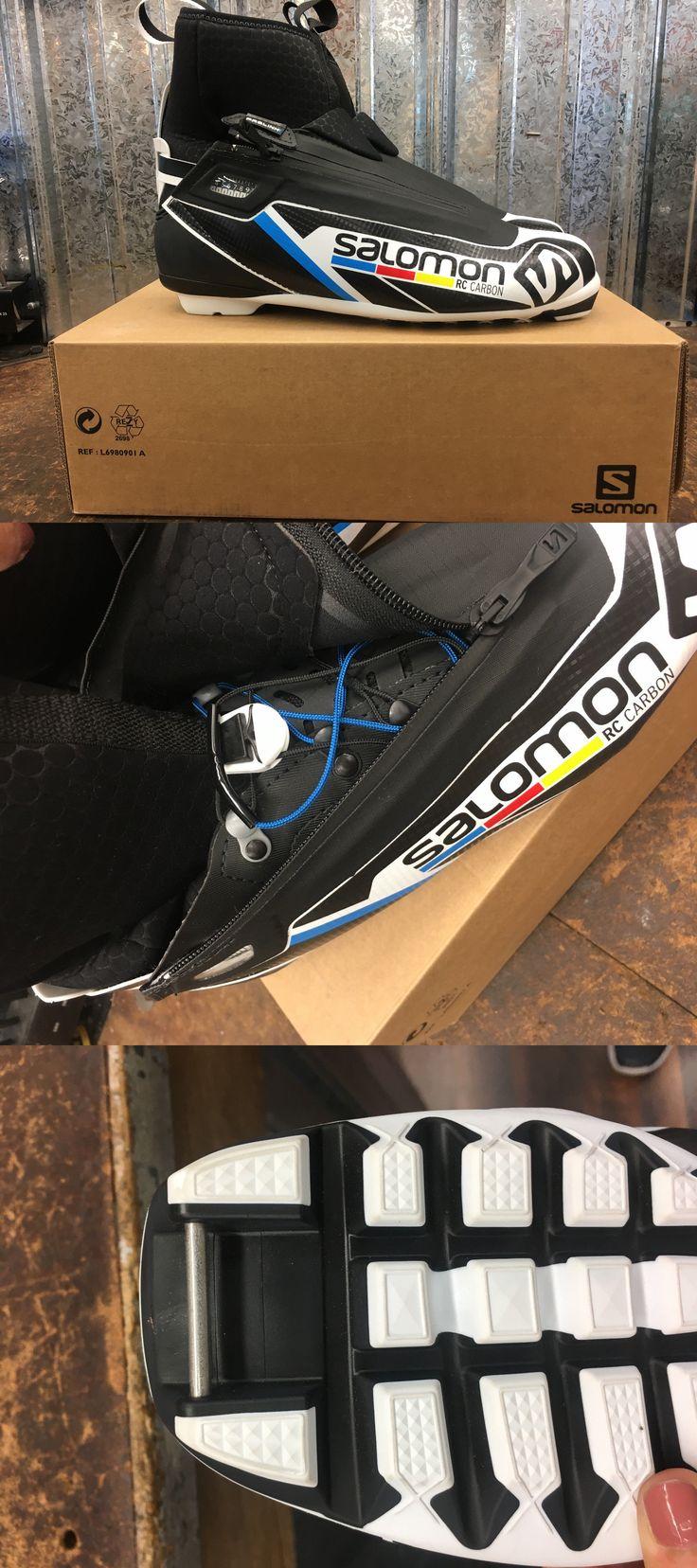 Boots 36266: Salomon Rc Carbon Prolink Skate Ski Boot, Size 10.5Us 10Uk -> BUY IT NOW ONLY: $200 on eBay!
