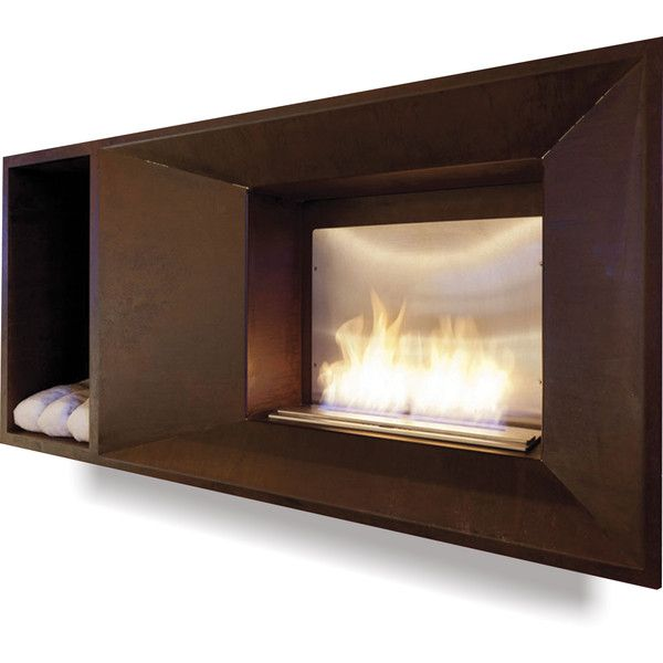 altro fuoco book recessed fireplace liked on polyvore featuring home home