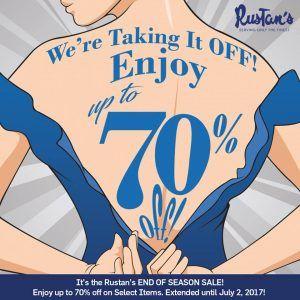 Rustans End of Season Sale