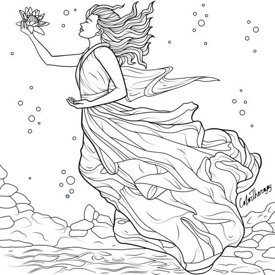 halloween therapy coloring pages - photo#2