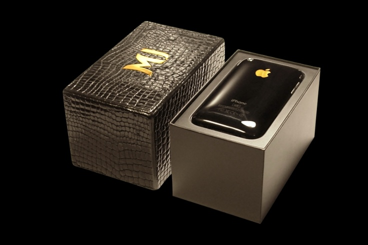 Box iPhone Leather Crocodile Black & iPhone 3G Black MJ. Box iPhone Leather Crocodile Black & iPhone 3G Black MJ Phone with decorative elements from gold and other precious metals. Box from a genuine leather of premium class  with a logo from cast gold.                                                      http://exclusive-mj.com/en/