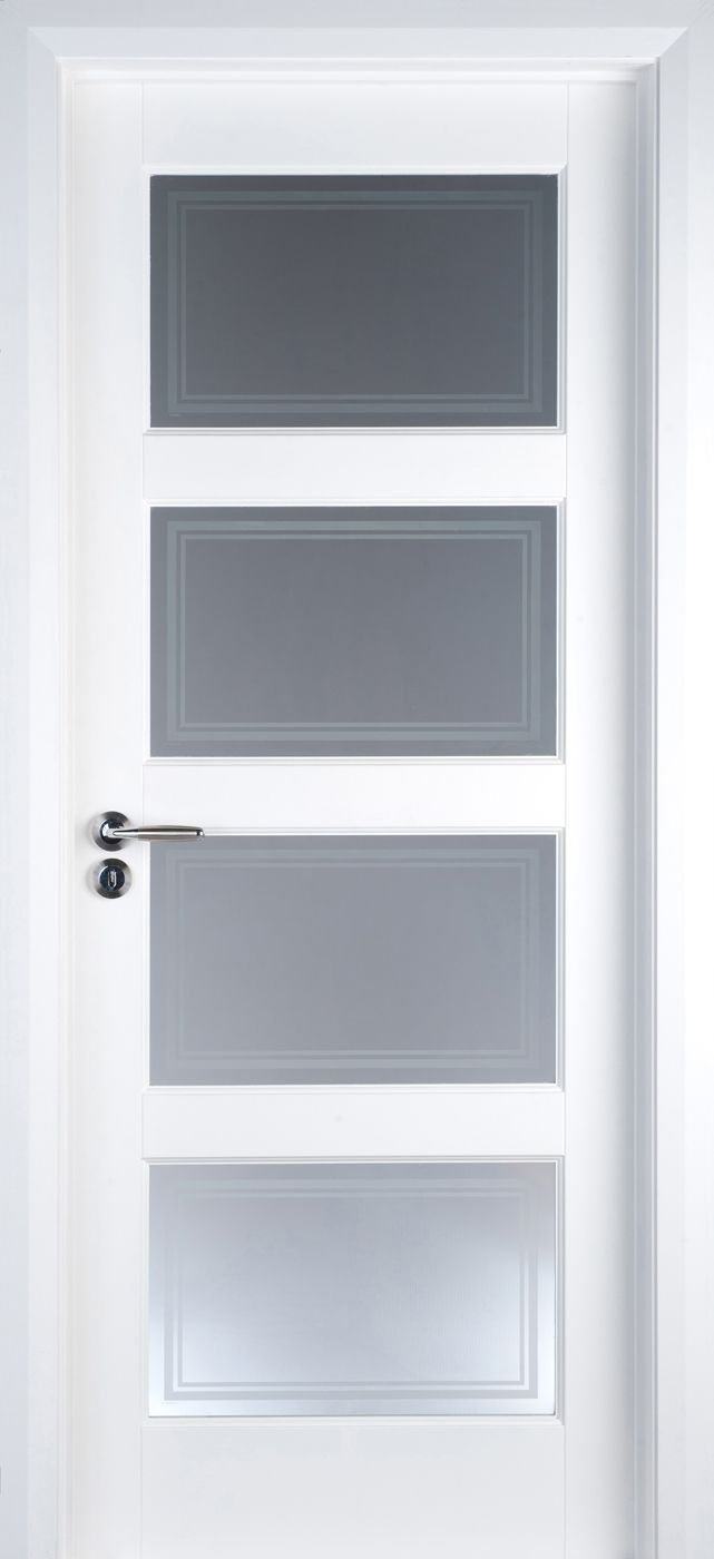 Best 20 contemporary internal doors ideas on pinterest white primed contemporary 4 lite pre glazed 40mm internal interior doors eventelaan Gallery