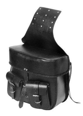 These Leather Saddlebags Are Made From Split Leather Which Is The Thick Under Part Of The Top Grain Leather. Great For Couple Of Years Of Use. Not Water Proof But Water Resistant. We Recommend You Using Some Waterproofing Leather Cream.