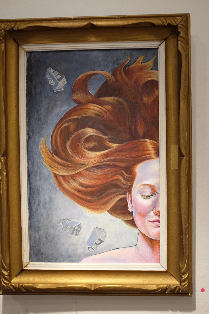I made a painting, had a fantastic model. The painting was bought and is now residing in that persons home. bombastic frame, no?