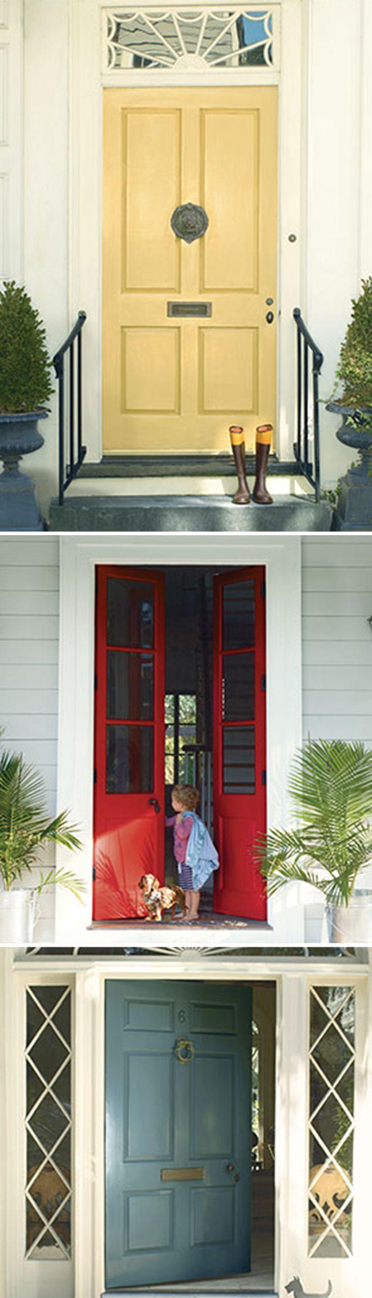 64 best Pretty Front Doors. images on Pinterest | Windows, Door ...
