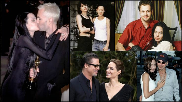 From Jenny Shimizu to Brad Pitt! Angelina Joile's Most Controversial Love Affairs