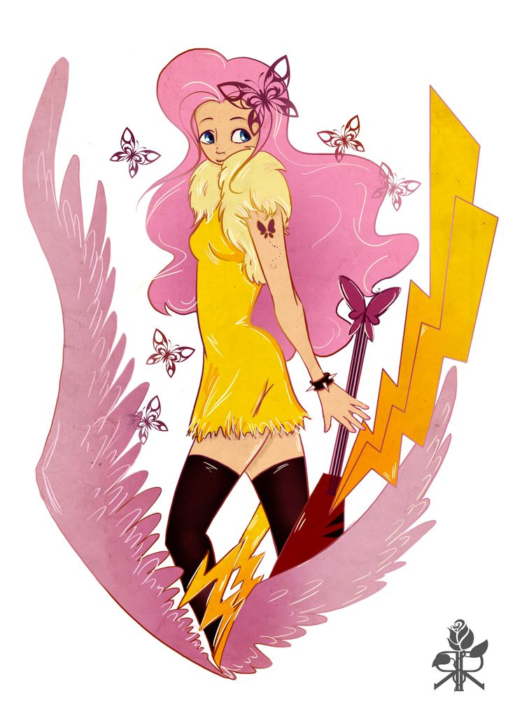 Fluttershy - my own vision ;)