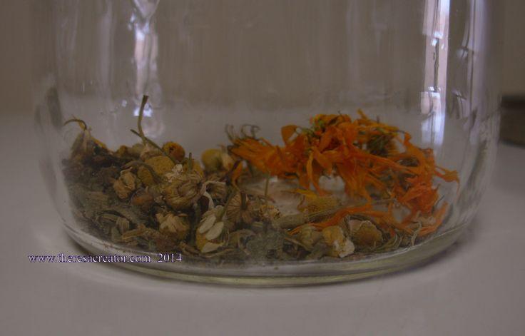 Comfrey Chamomile Calendula