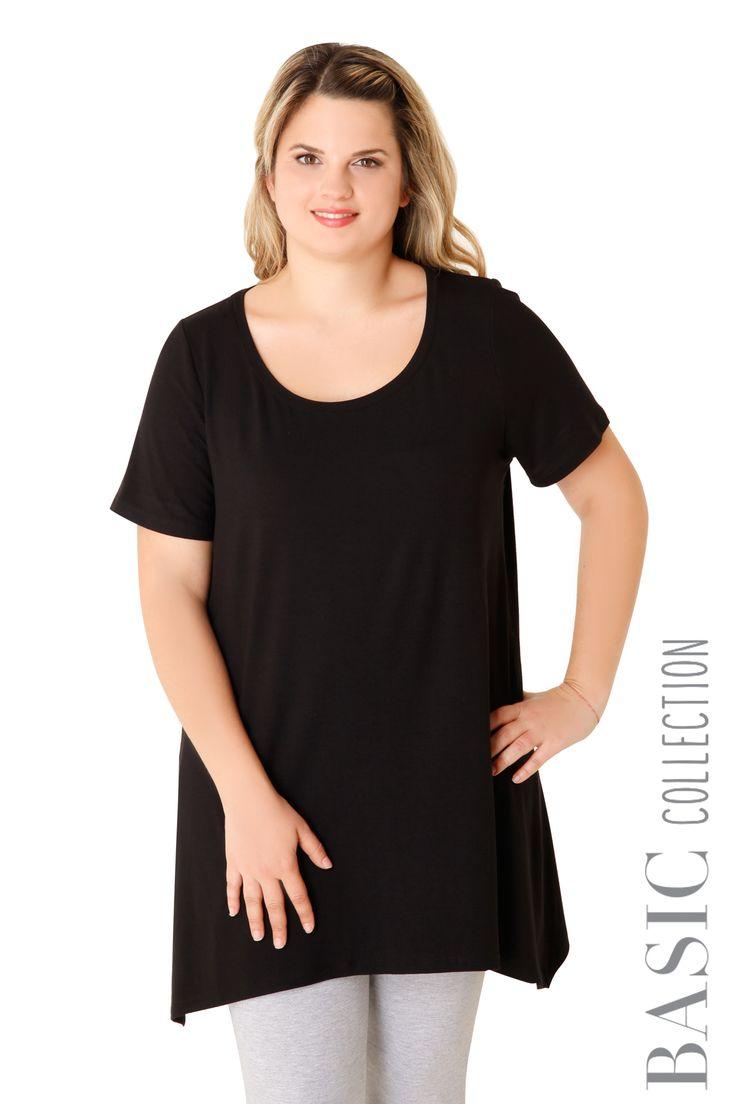 Βισκόζ μπλούζα με μύτες - Ρούχα | XLcloset