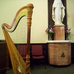 Michigan Catholic Church Wedding Music Harp Southwest TheClassicHarpist