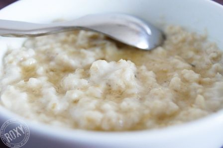 Porridge au micro-ondes - Recette de base