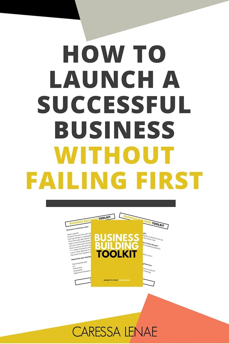 Build your business with the tools, resources, mentorship, community and investment that sets yourself up for a successful business the first time around via @CaressaLenae.