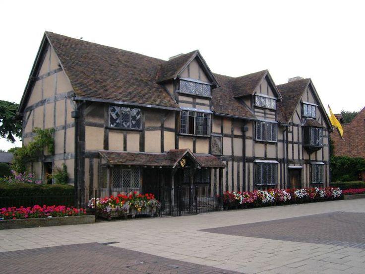 William Shakespeare: Casa lui William Shakespeare, Stratford-upon-Avon