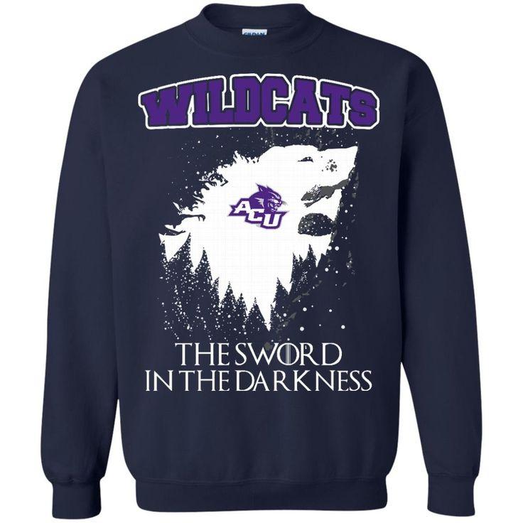 Abilene Christian Wildcats Game Of Thrones T shirts The Sword In The Darkness Hoodies Sweatshirts https://www.fanprint.com/licenses/abilene-christian-wildcats?ref=5750