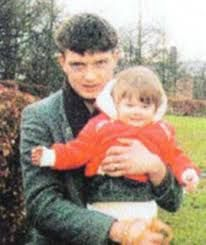 Natalie Curtis and his father, Ian Curtis
