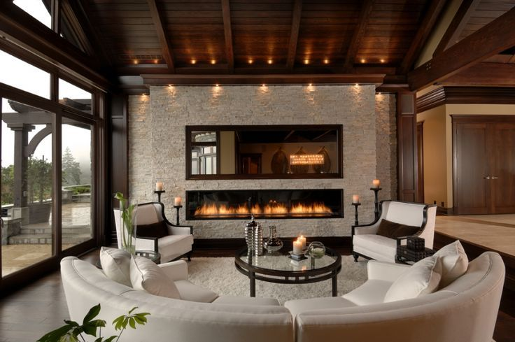 36 Cozy Living Room Ideas With Fireplaces Unique Interior Styles Living Room Mansion Luxury Homes Dream Houses Dream Living Rooms