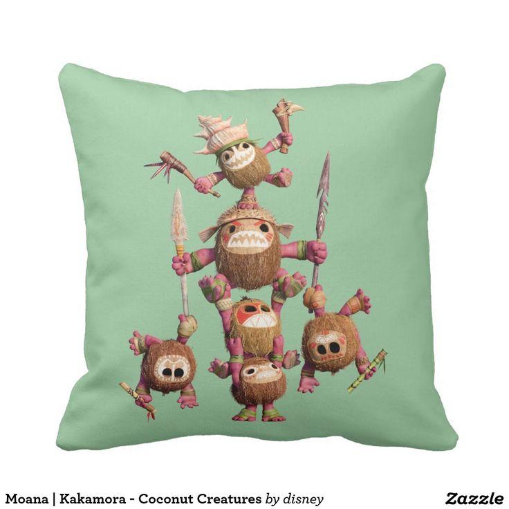 Moana | Kakamora - Coconut Creatures Throw Pillow