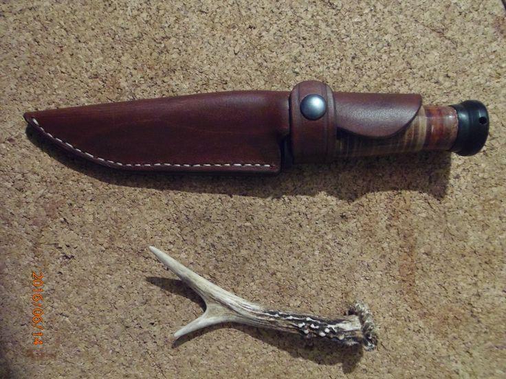 Ka Bar Mark 1 leather sheath